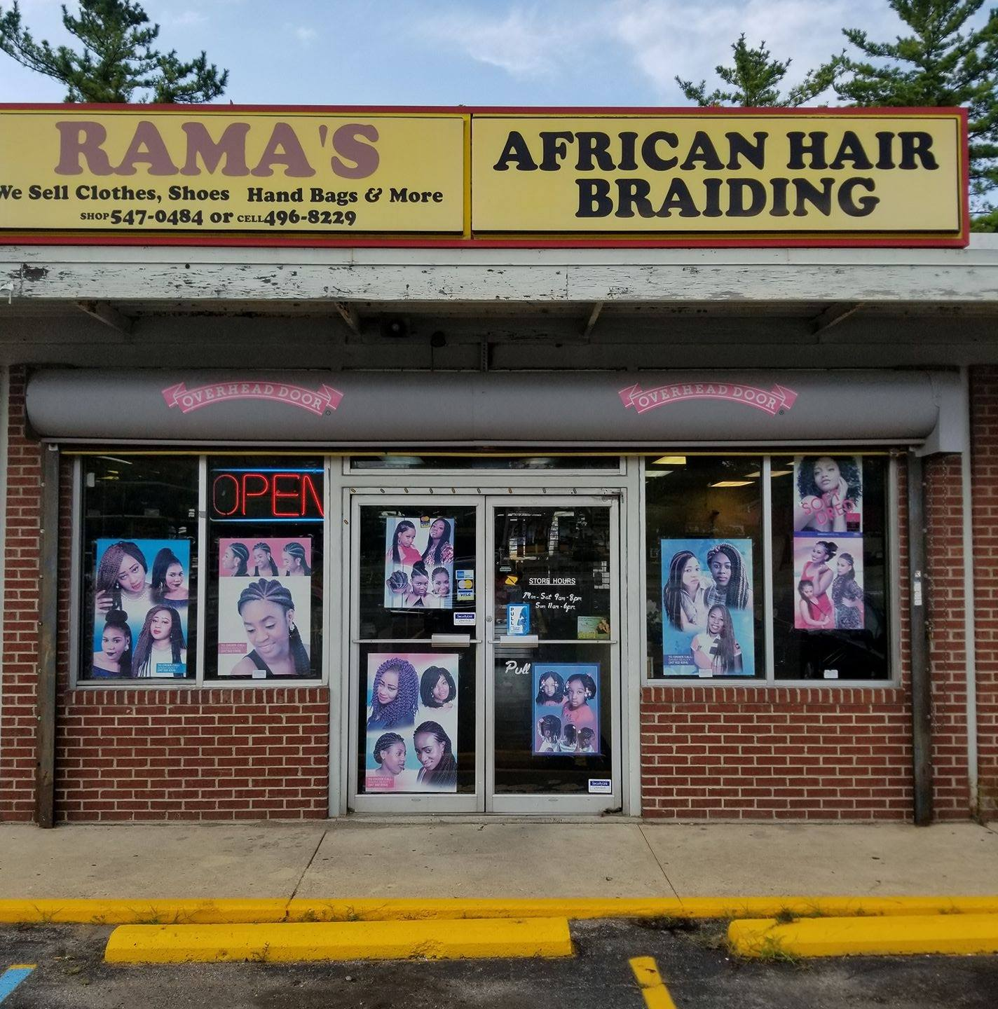 Ramas Store Front